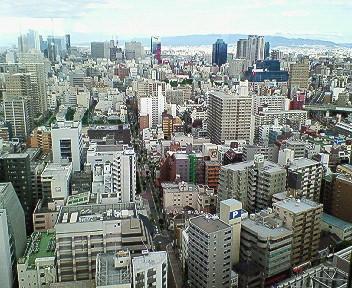 帝国ホテル24階からの眺め.jpg