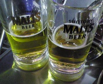 阪急ビアガーデン ビール.jpg